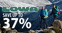 Lowa – save up to 37%