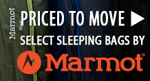 Priced to Move! Select Marmot Sleeping Bags