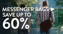 Messenger Bags – save up to 60%