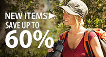 New items – save up to 60%