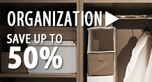 Save up to 50% on organization