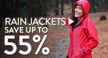 Rain Jackets - save up to 55%