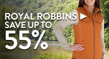 Royal Robbins – save up to 55%