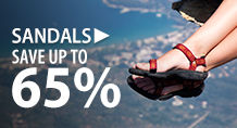 Sandals – save up to 65%