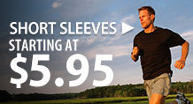 Short-sleeve shirts – starting at $5.95