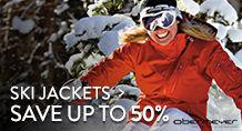 Ski Jackets - save up to 50%