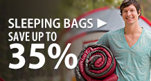 Sleeping Bags – save up to 35%