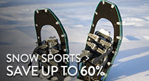 Snow Sports - save up to 60%