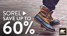 Sorel - save up to 60%