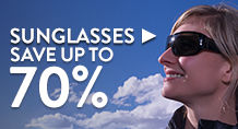 Sunglasses – save up to 70%