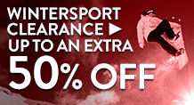Wintersport Clearance Sale – up to an extra 50% Off