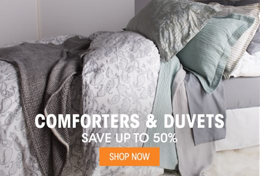 Comforters & Duvets - Save up to 50%