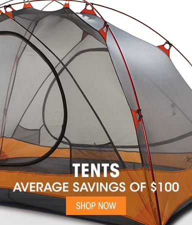 Tents - Average Savings of $100