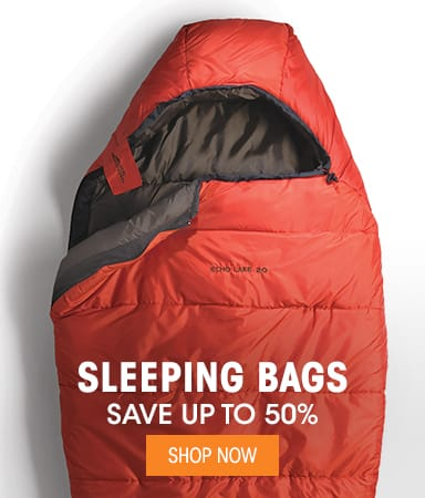 Sleeping Bags - Save up to 50%
