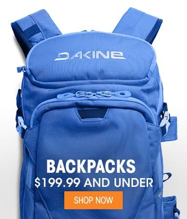 Backpacks - $199.99 & Under