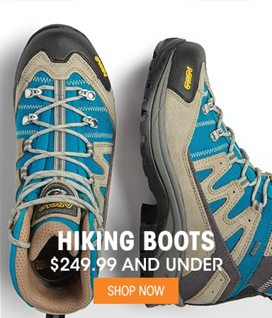 Hiking Boots - $249.99 & Under