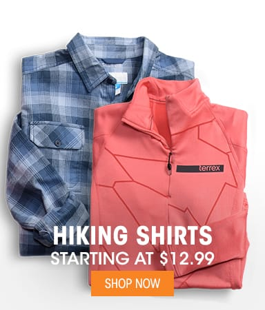 Hiking Shirts - Starting at $12.99