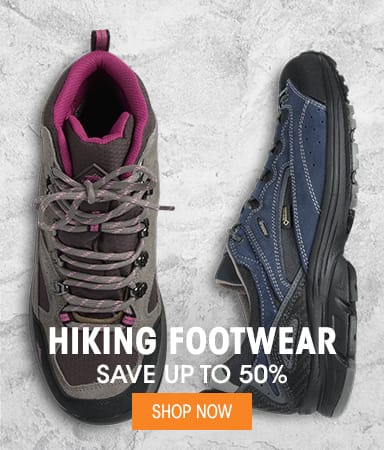 Hiking Footwear - ave up to 50%