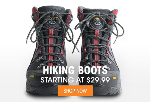 Hiking Boots - Starting at $29.99