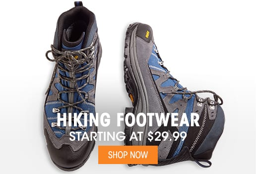 Hiking Footwear - Starting at $24.99