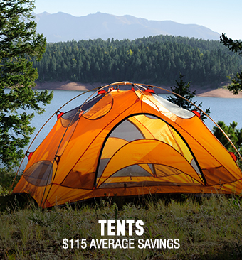 Tents - average savings $115