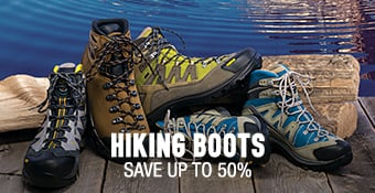 Hiking Boots - save up to 50%