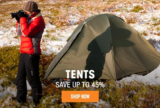 Tents - save up to 45%