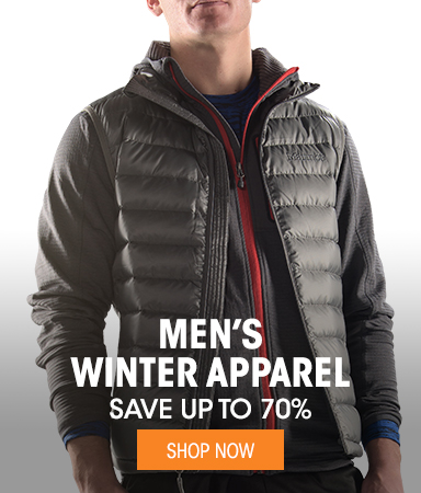 Men's Winer Apparel - save up to 70%