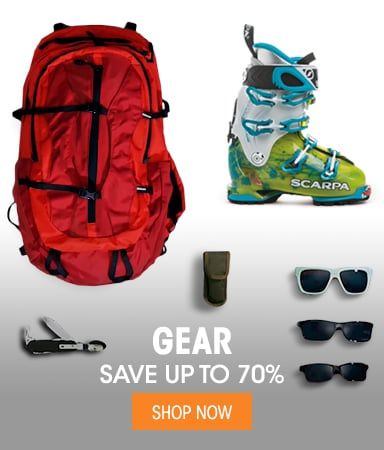 Gear - save up to 70%