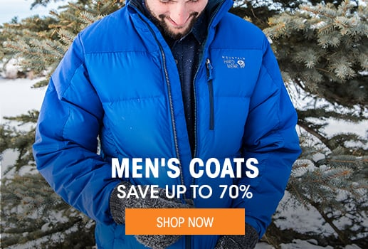 Men's Coats - save up to 70% - Shop Now