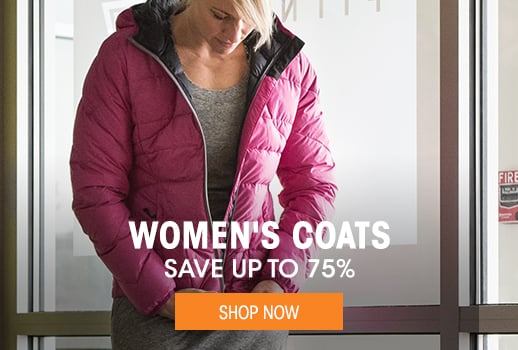 Women's Coats - save up to 75% - Shop Now