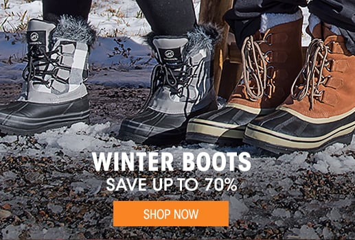 Winter Boots - save up to 70% - Shop Now