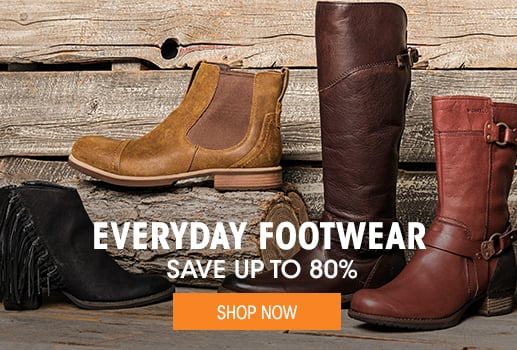 Everyday Footwear - save up to 80% - Shop Now