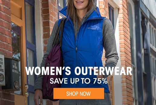 Women's Outerwear - save up to 75%
