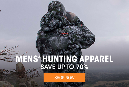 Men's Hunting Apparel - save up to 70%