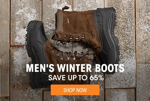 Men's Winter Boots - save up to 65%