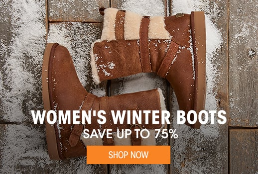 Women's Winter Boots - save up to 75%