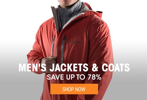 Men's Jackets & Coats - save up to 78%
