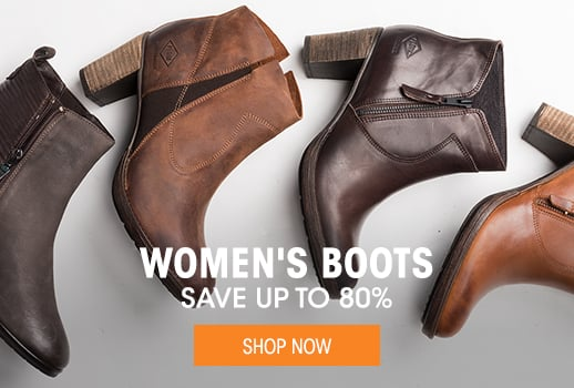 Women's Boots - save up to 80%