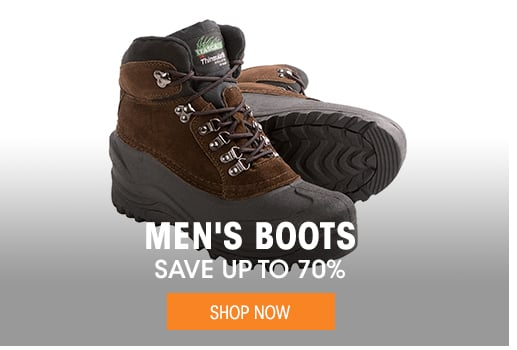 Men's Boots - save up to 70%