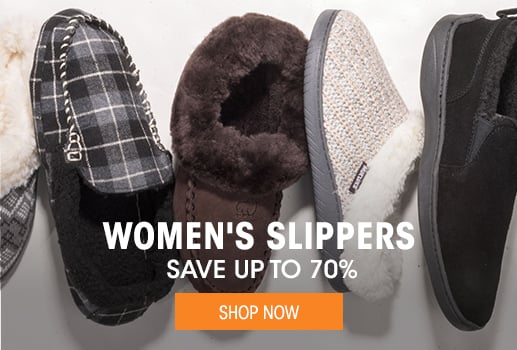 Women's Slippers - save up to 70%