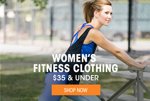 Women's Fitness Clothing $35 & under