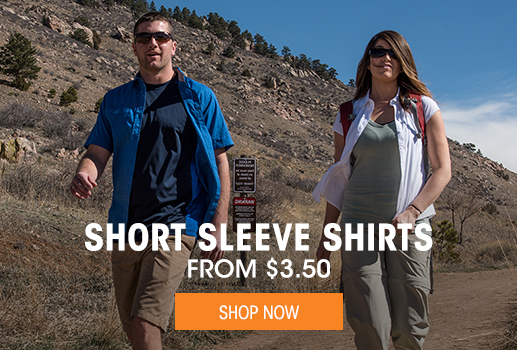 Short Sleeve Shirts - From $3.50