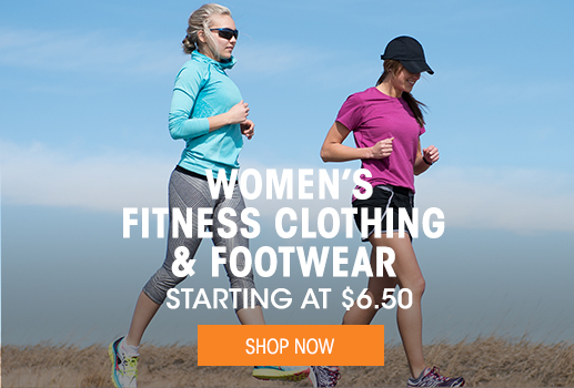 Women's Fitness Clothing & Footwear - Starting at $6.50