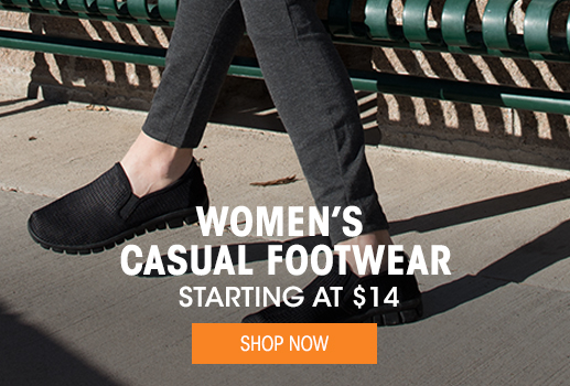 Women's Casual Footwear - Starting at $14