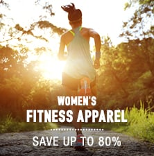 Women's Fitness Apparel - save up to 80%