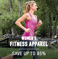 Women's Fitness Apparel - save up to 85%