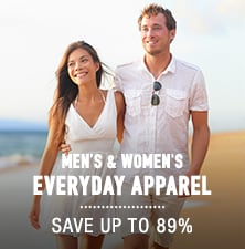 Men's & Women's Everyday Apparel - save up to 89%