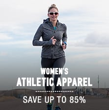 Women's Athletic Apparel - save up to 85%
