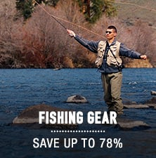Fishing Gear - save up to 78%